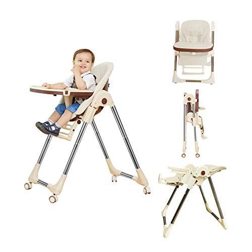 [Esluve]ベビーチェア ハイチェア 食事 折りたたみ 赤ちゃん 椅子 離乳食 椅子 おすすめ ベビーいす食事 高さ調節 赤ちゃん ローチェア 移動便利[一年保証]