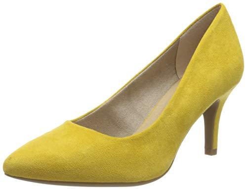 MARCO TOZZI Damen 2-2-22452-34 Pumps, Gelb (Yellow 600), 38 EU