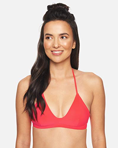 Hurley Damen W Adjustable Surf Top Bikini, Red Orbit, L