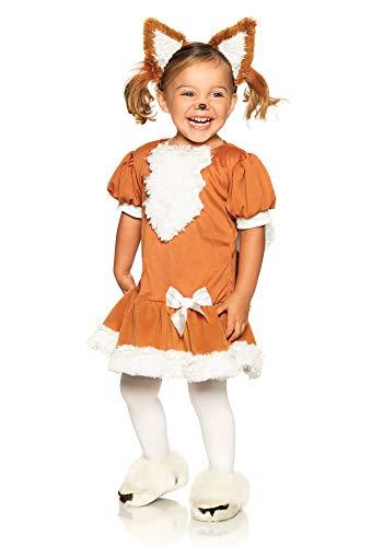 Leg Avenue W28190 Kostüm, Unisex-Kinder, Brown, White, S