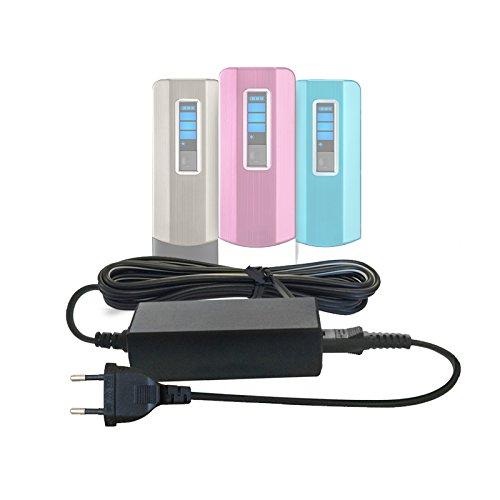 ABC Products® Reemplazo del Cable de NONO/No!No! Batería Cargador/Adaptador Adaptador Fuente de alimentación para No No Sistema de eliminación de Vello Corporal/depiladora Cabello