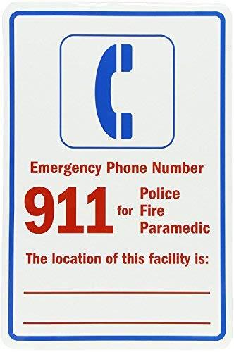 cwb2jcwb2jcwb2j Lijm Vinyl Label, Legend Noodnummer 911 voor Politiebrand, 18
