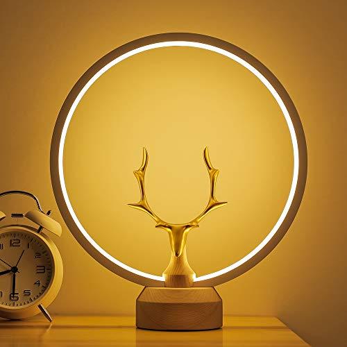 Lámpara de Mesa de luz de Noche Creativa LED de luz magnética Inteligente