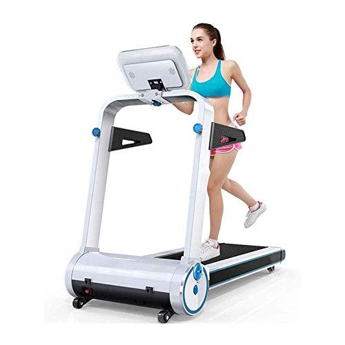 Cintas para correr, Máquinas eléctricas plegables, Cintas de correr para el hogar, Cintas de correr multifunción, Casa Cómoda Equipo de Fitness Hogar Smart Ultra-Slimal Pensión Pérdida Máquina Plegabl