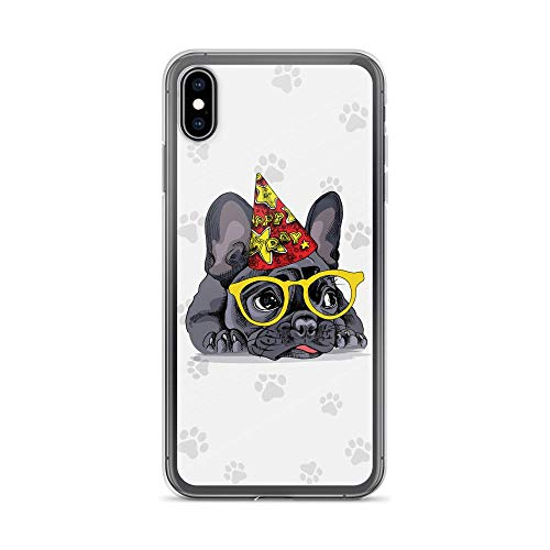 Compatible for iPhone 6/6s Case Happy Birthday Frenchie Puppy Bully TPU Anti-Scratch