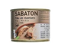 サバトン マロンペースト / 240g TOMIZ/cuoca(富澤商店) 栗・芋・かぼちゃ マロンペースト