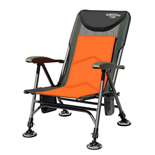 Chaises de pêche Chaise Longue De Jardin Chaise De Camping Chaise Pliante Multifonctionnelle Peut Supporter 200 Kg Cadeau (Color : B, Size : 47.5 * 90 * 60cm)