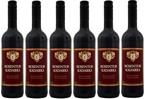 Rosentor Kadarka Rotwein Nordmazedonien Süß (6 x 0,75L)