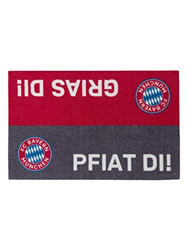 FC Bayern München Fußmatte Spruch
