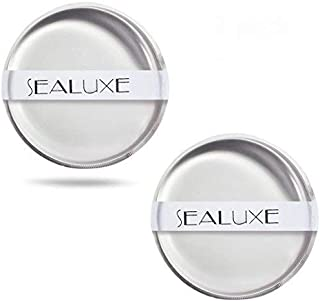 Silicone Makeup Sponge 2 Pack Premium Quality Silisponge -Easy To Wash Beauty Sponge Applicator for Flawless Application of Liquid Foundation,Primer, Concealer by SEALUXE