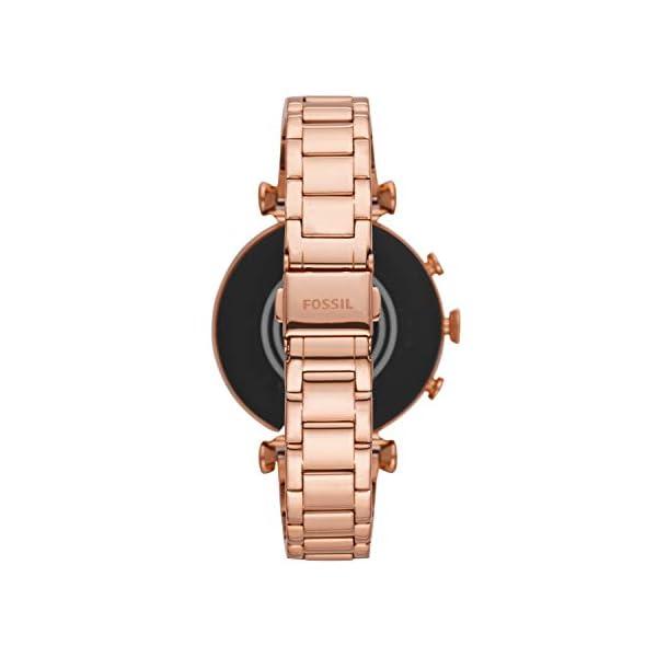 [category] Fossil Women's Gen 4 Sloan HR Stainless Steel Touchscreen