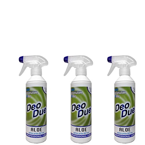 Ambientador Deo Due Aloe 500 ml, 3 unidades