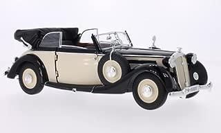 Horch 930 V Convertible, beige/black, 1939, Model Car, Ready-made, Ricko 1:18