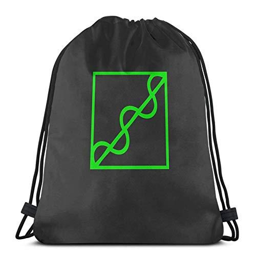 LREFON Quake 3 Arena - RailSport Sackpack Kordelzug Rucksack Gym Bag Sack