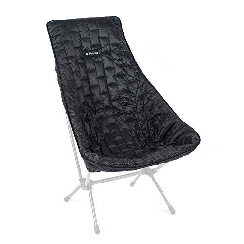 Helinox Seat Warmer   Die Gesteppte Sitzabdeckung mit synthetischer Isolierung wärmt Chair One (Sunset, Beach - Black)