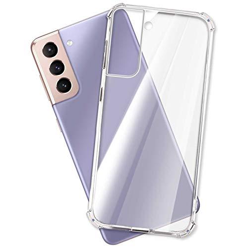 mtb more energy® Hülle Soft Armor für Samsung Galaxy S21 5G (SM-G991, 6.2'') - verstärkte Ecken - Kameraschutz - 1,5mm TPU - Schutz-Hülle Cover Tasche Handyhülle