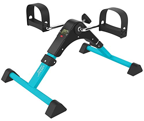 Aduro Sport Foldable Pedal Exerciser, Stationary Under Desk Exercise Equipment...