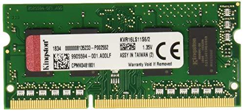 Kingston Kvr16Ls11S6/2 2 Gb 1600 Mhz Ddr3L Niet Ecc-Geheugen Ram Sodimm