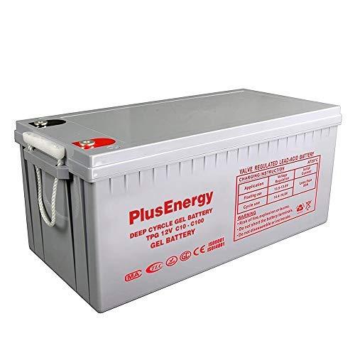 Plusenergy wccsolar Bateria Gel TPG250 12V 200AH-250AH c10-c100
