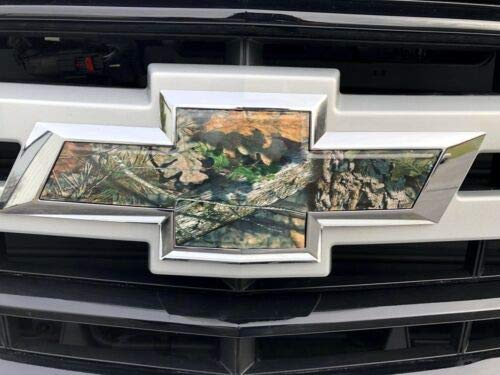 Emblem Bowtie Camo Camouflage Overlay Decals Stickers for Tahoe