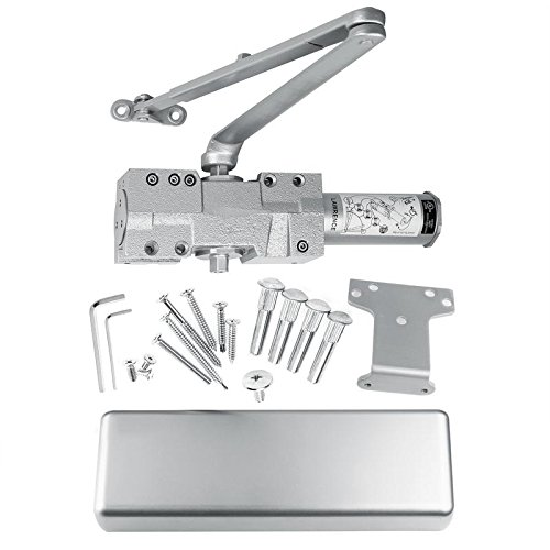 Lawrence Hardware Kommerzielle Türschließer, Gusseisen, Modell SL8016, stark frequentierten Türen. Vergleichbar mit allen wichtigen Marken. Aluminium Extra schwer belastbar 1. Klasse