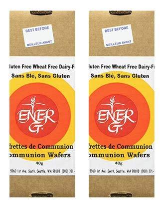 Ener-G Foods Communion Wafers Gluten Free -- 1.55 oz (2-Pack)