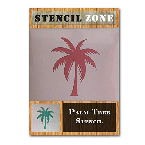 Exotische Palme Pflanze Mylar Airbrush Malerei Wand-Kunst-Handwerk-Schablone Zwei-XXS