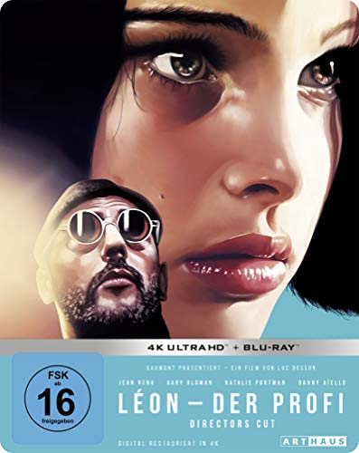Leon - Der Profi / Limited 25th Anniversary Steelbook Edition / 4K Ultra HD [Blu-ray]