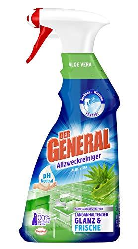 Der General Aloe Vera, Allzweckreiniger Spray, Sprühflasche, 5er Pack (5 x 500 ml)