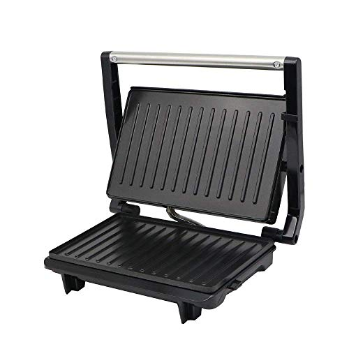 Sandwich Maker Waffeleisen mit abnehmbarer Antihaft-Beschichtung Panini Press Grill mit automatischem Thermostatsystem for Frühstück, Mittagessen oder Snacks fangkai77