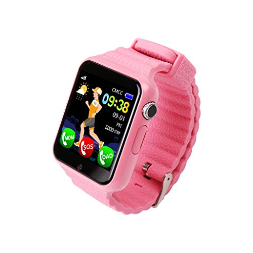 Posizione smartwatch stand-alone card call 1.54 inch touch screen impermeabile Rosa.