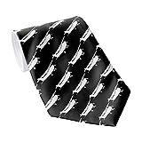 Men's Classic Necktie Aircraft Classic Cessna Silhouette Flying Neckties Men's Tie