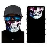 4Clean 3D waschbarer Schlauchschal mit Motiv I Gesichtsmaske mit UV-Schutz I Multifunktionstuch für...