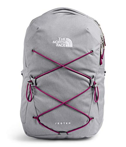 The North Face Jester Backpack Meld Grey Dark Heather/Dramatic Plum One Size