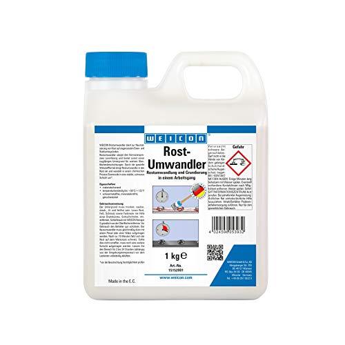 Weicon 15152001 Rost-Umwandler Flüssigwirkstoff 1kg – Korrosionsschutz im Innen-& Außenbereich