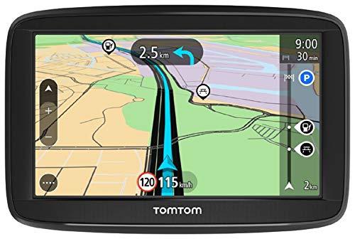 TomTom Navigationsgerät Start Bild