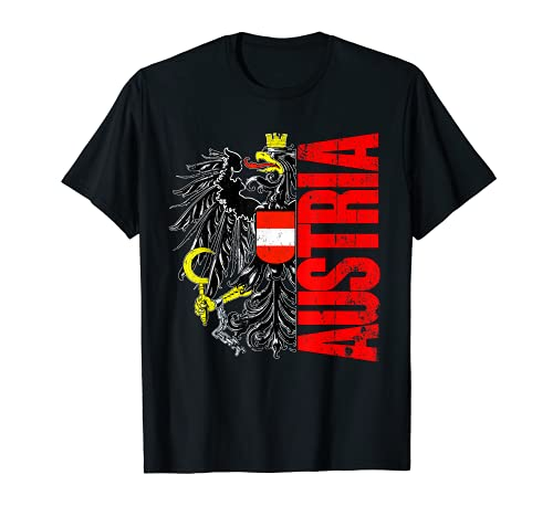Österreich Fußball Trikot Flagge Austria Wappen T-Shirt