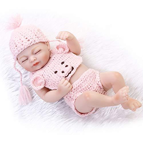 HUANLIAN Mini Reborn Baby Puppen 10