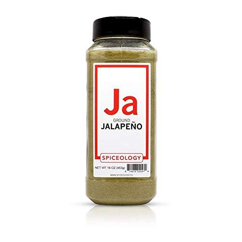 Jalapeno Powder - Spiceology Ground Dried Jalapeno Pepper - 16 ounces