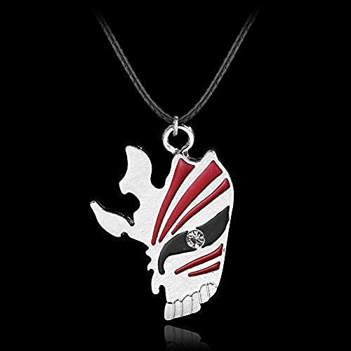 ZPPYMXGZ Co.,ltd Collar de Moda Popular Bleach Leather Colgante Collar Declaración Collar Hombres Accesorio de joyería