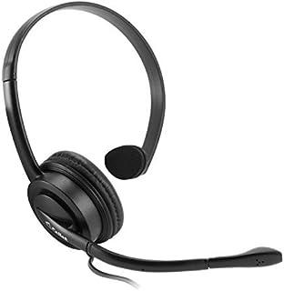 Cellet Universal Premium Mono 2.5 mm manos libres con micrófono de pluma para teléfono fijo, teléfono inalámbrico, teléfonos de oficina, teléfonos de negocios, centros de llamadas (no para teléfonos inteligentes)