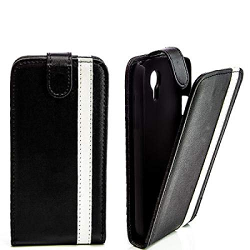 Flip-funda de piel funda Sony Xperia S LT26i/Ericsson ARC HD blanco y...