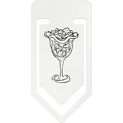 Azeeda 141mm 'Eisbecher' Riesige Plastik Büroklammer (CC00012092)