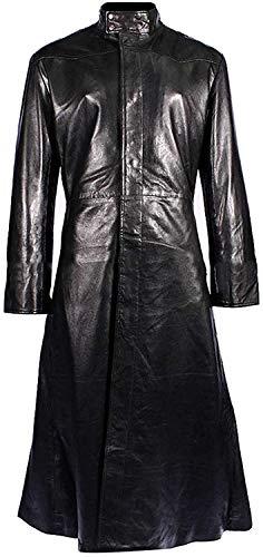 T&I Texas Black Stephen Amell Roy Harper - Chaqueta de piel con capucha para hombre, talla X-Men