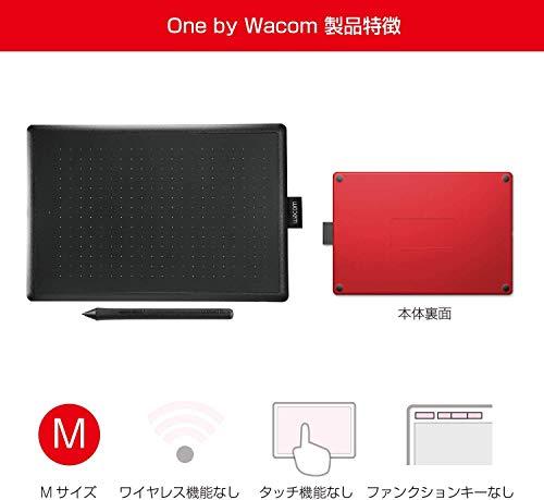 『【ワコムストア限定】ワコム ペンタブレット One by Wacom ペン入力専用モデル Mサイズ CTL-672/K0-C』の4枚目の画像