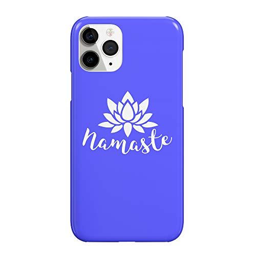 Namaste Lotus Yoga Meditation_MRZ2500 - Funda protectora de plástico duro para smartphone (funda para iPhone 7)