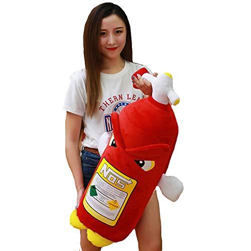 TINGTING Plüschtier Simulation Feuerlöscher PP Baumwolle Gefüllt Kissen Dekoration Junge Mädchen Verschiedene Größe,50CM