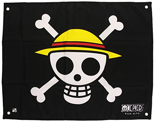 Abystyle - ABYDCT001 - Muebles y Decoración - One Piece - Bandera - Cráneo - Luffy - 50 x 60 cm , color/modelo surtido