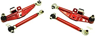 Godspeed(AK-084) Adjustable Front Lower Control Arm With High Angle Tension Rods, Set of 2, Nissan 240SX(S14) 1995-98