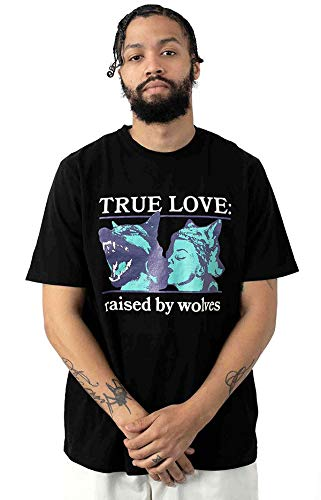 Raised By Wolves レイズドバイウルブス Tシャツ Absolutes T-Shirt Black 黒 XL カジュアル ストリート スケボー SKATE SK8 HIPHOP
